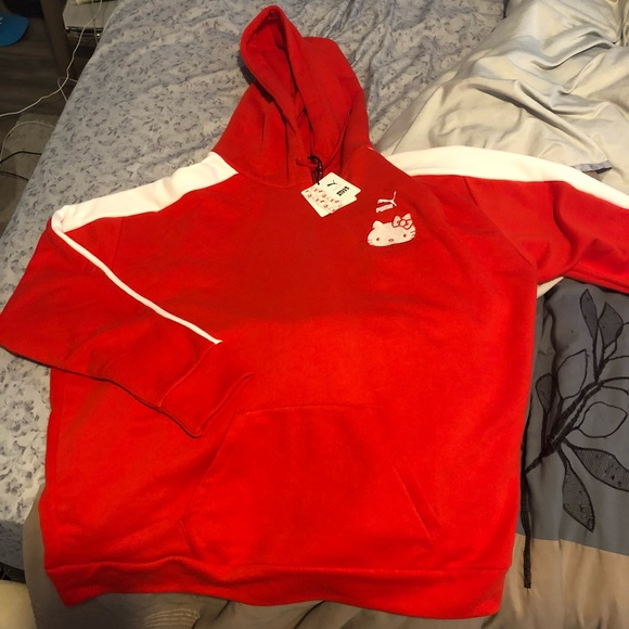 1447177be Puma Sweaters | Womens Hello Kitty Sweatshirt Limited | Poshmark